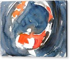 Koi Fish No.4 Acrylic Print by Sumiyo Toribe