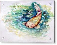Koi I Acrylic Print
