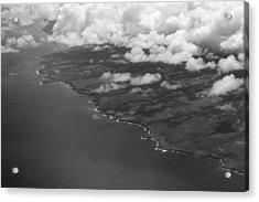 Kona And Clouds Acrylic Print