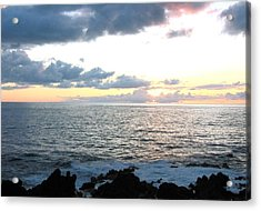 Kona  North Acrylic Print by Angela J Wright
