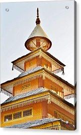 Kondar Devata Temple Acrylic Print by Kim Bemis