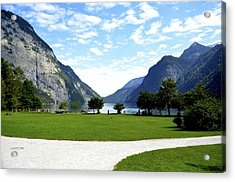 Konigssee Corridor Acrylic Print by Marty  Cobcroft