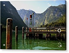 Konigssee Germany Acrylic Print by Marty  Cobcroft