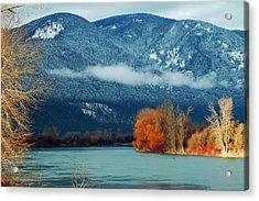 Kootenai River Acrylic Print