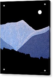 Kootenay Mountains Acrylic Print