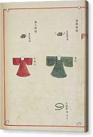 Korean Court Dress Acrylic Print