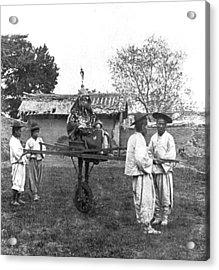 Korean General Cart Acrylic Print