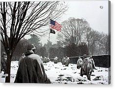 Korean War Memorial Acrylic Print