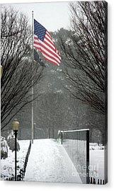 Korean War Veterans Memorial Acrylic Print