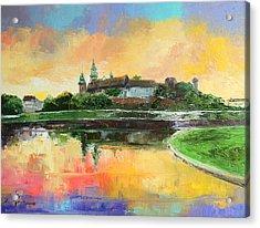 Krakow - Wawel Castle Acrylic Print