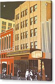 Kress On K Street Acrylic Print by Paul Guyer