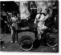 Krewe Du Vieux Parade New Orleans Acrylic Print