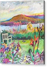 Kripalu View Acrylic Print