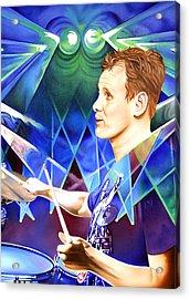 Kris Myers Acrylic Print by Joshua Morton