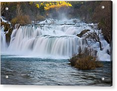 Krka Waterfalls Acrylic Print