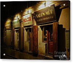 Kroke - Kazimierz - Krakow - Gesher Galicia - Shalom. .the Jewish Life In Krakow. Viewed 224 Times  Acrylic Print by  Andrzej Goszcz