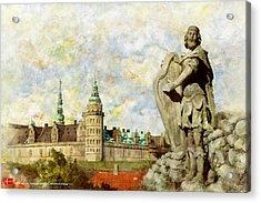 Kronborg Castle Acrylic Print by Catf
