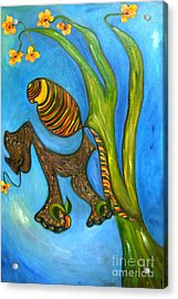 Kula And Pani's Ghost Acrylic Print by Mukta Gupta
