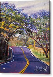 Kula Cruising Acrylic Print by Jennifer Beaudet