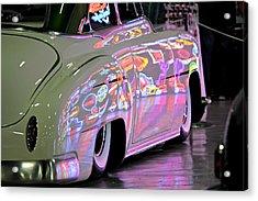 Kustom Neon Reflections Acrylic Print
