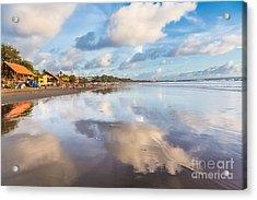 Kuta Beach In Seminyak Acrylic Print