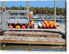 Kyack Dock Acrylic Print