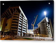 Kyle Field Construction Acrylic Print