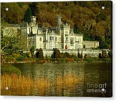 Kylemore Abbey On A Golden Afternoon Acrylic Print