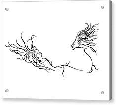 L Chaim Acrylic Print