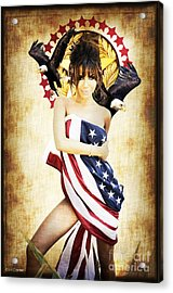 La Americana Acrylic Print by D H Carter