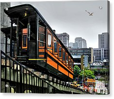 Los Angeles Angels Flight Acrylic Print