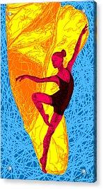 La Ballerina Du Juilliard Acrylic Print by Kenal Louis
