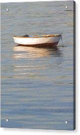 La Barque Au Crepuscule Acrylic Print
