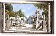 La Bella Fontana Acrylic Print