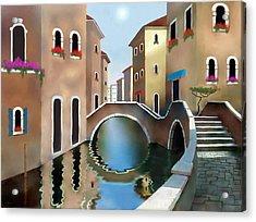 La Bella Vita Acrylic Print by Larry Cirigliano