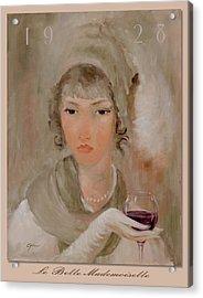 La Belle Mademoiselle Acrylic Print by Gini Heywood