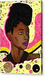 La Belle Tia Acrylic Print by Kenal Louis