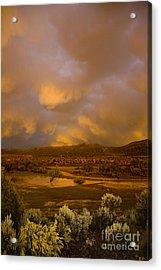 La Boca Rain Acrylic Print by Jerry McElroy