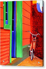 La Boca-reserved Parking Acrylic Print