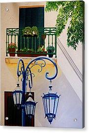 La Boca Shadows Acrylic Print
