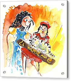 La Boheme In Tenerife Acrylic Print by Miki De Goodaboom