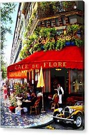 La Boheme Acrylic Print by Miki Karni