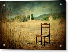 La Chaise Acrylic Print by Taylan Apukovska