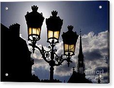 La Chapelle Paris Acrylic Print by Colin Woods