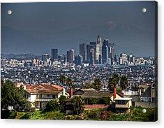 La Cityscape Acrylic Print
