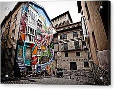 La Ciudad Pintada Acrylic Print