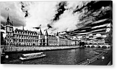 Acrylic Print featuring the photograph La Conciergerie / Paris by Barry O Carroll