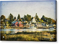 La Conner Waterfront Acrylic Print