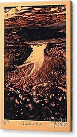 La Corde A Linge Acrylic Print