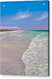 La Costa Acrylic Print by Eve  Wheeler